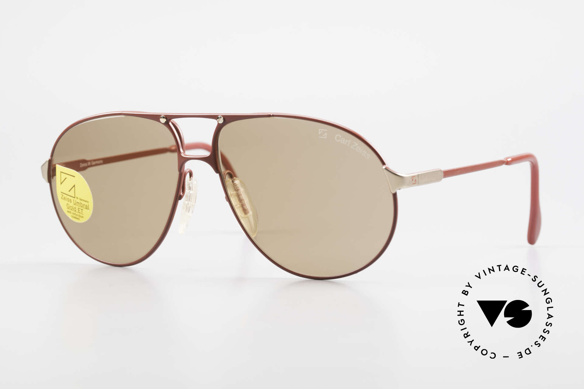 Zeiss 9289 Umbral Quality Mineral Lenses, outstanding Zeiss vintage sunglassses from the 80's, Made for Men