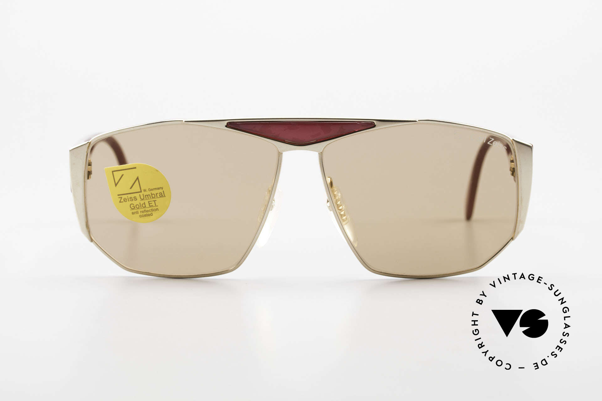 Zeiss 9302 Old 80's West Germany Shades, with high-end Zeiss Umbral mineral lenses (100% UV), Made for Men