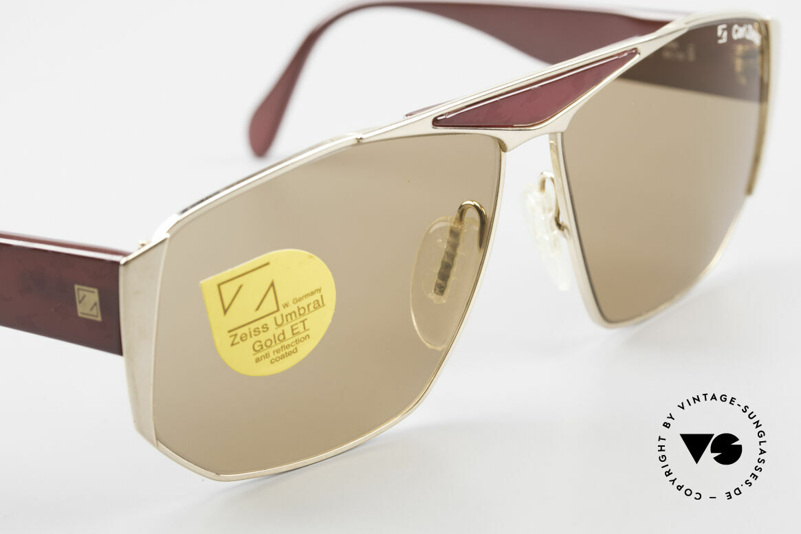Zeiss 9302 Old 80's West Germany Shades, NEVER worn (like all our vintage shades from the 80's), Made for Men