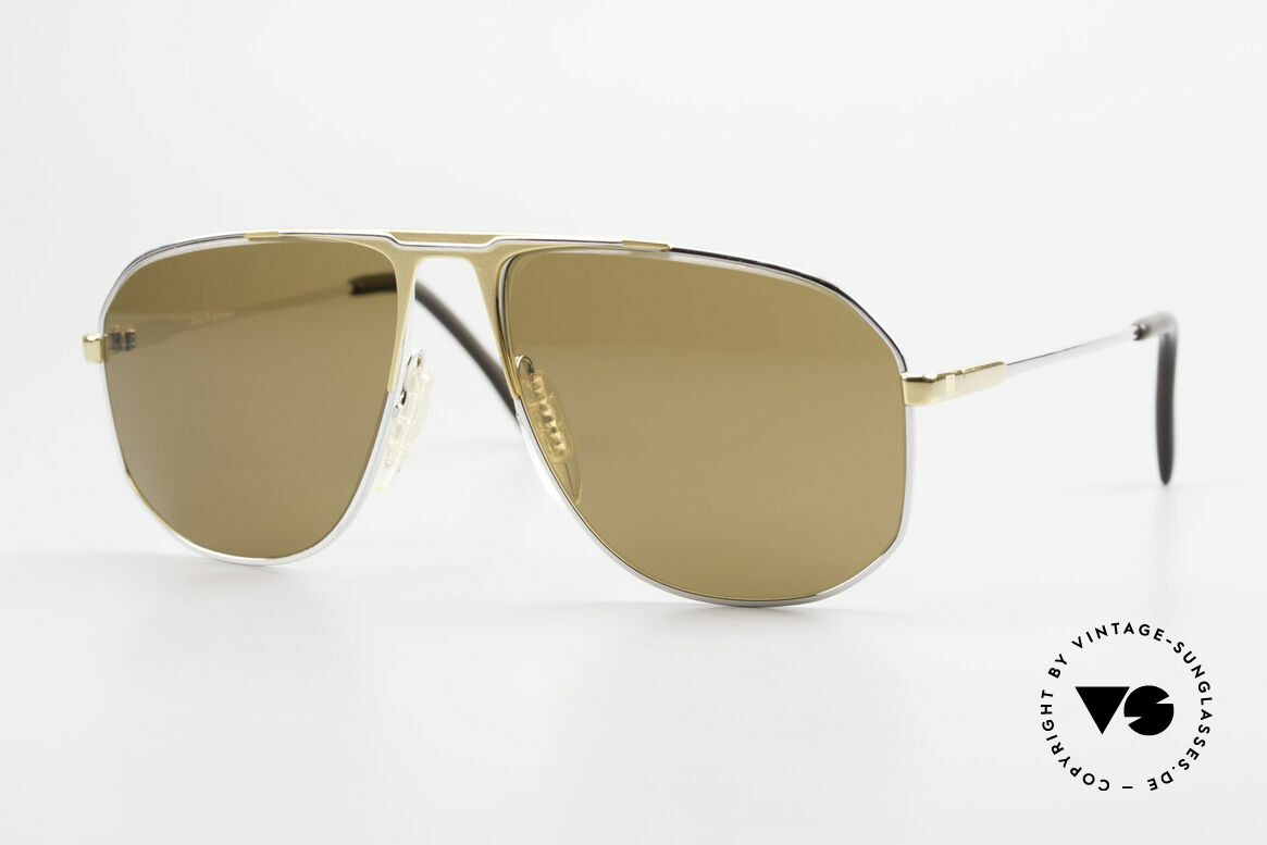 Zeiss 5871 80's Men's Quality Sunglasses, very sturdy vintage sunglasses by Zeiss from app. 1981, Made for Men