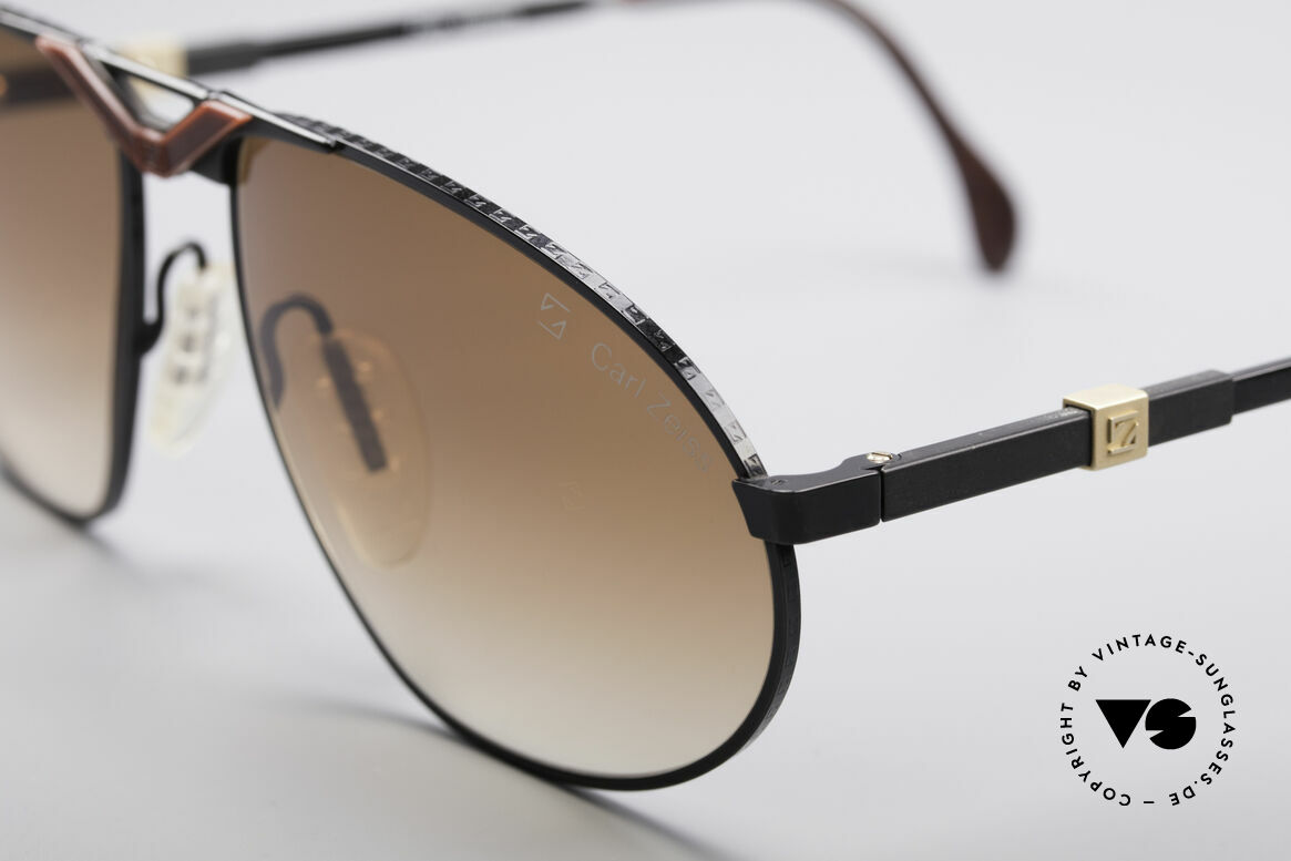 Zeiss 9929 Old 80's Competition Series, with interchangeable temples for an individual fitting, Made for Men