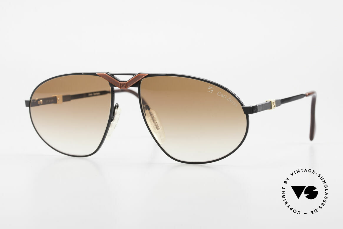 Zeiss 9929 Old 80's Competition Series, elaborate vintage sunglases by famous Zeiss, Germany, Made for Men