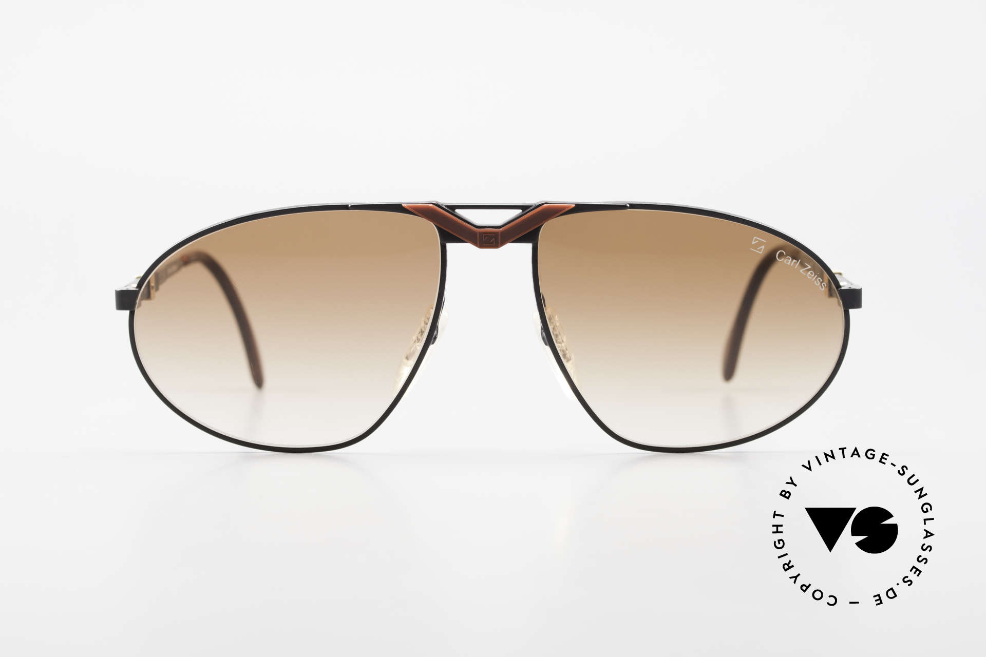 Zeiss 9929 Old 80's Competition Series, solid metal frame with costly engravings and details, Made for Men