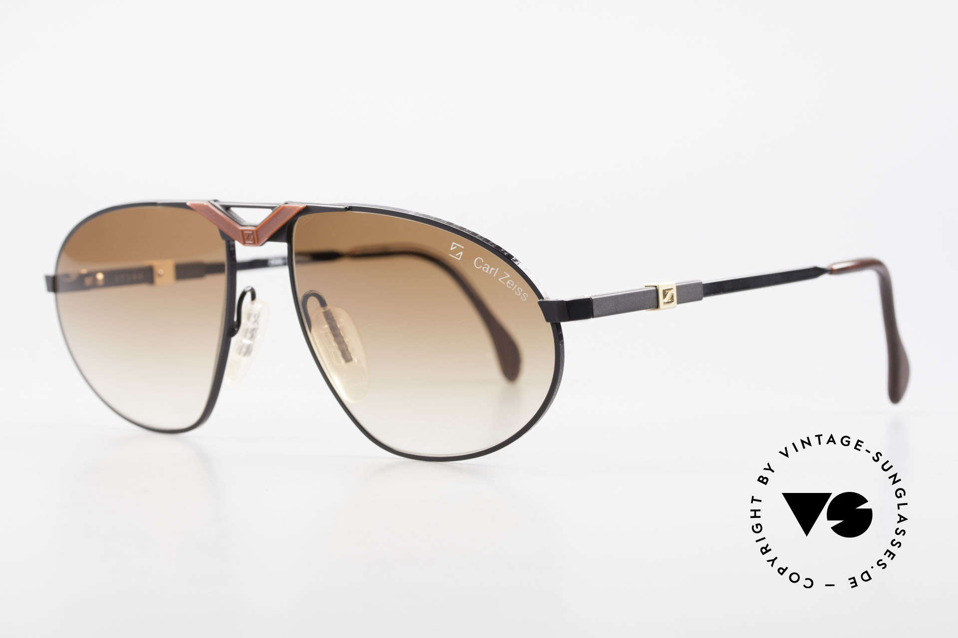 Zeiss 9929 Old 80's Competition Series, flexible spring hinges for a 1st class wearing comfort, Made for Men