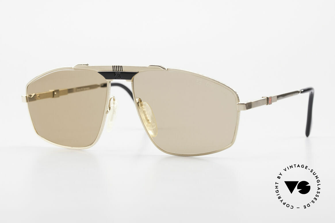Zeiss 9925 True Gentlemen's 80's Shades, this rare vintage model combines all quality features, Made for Men