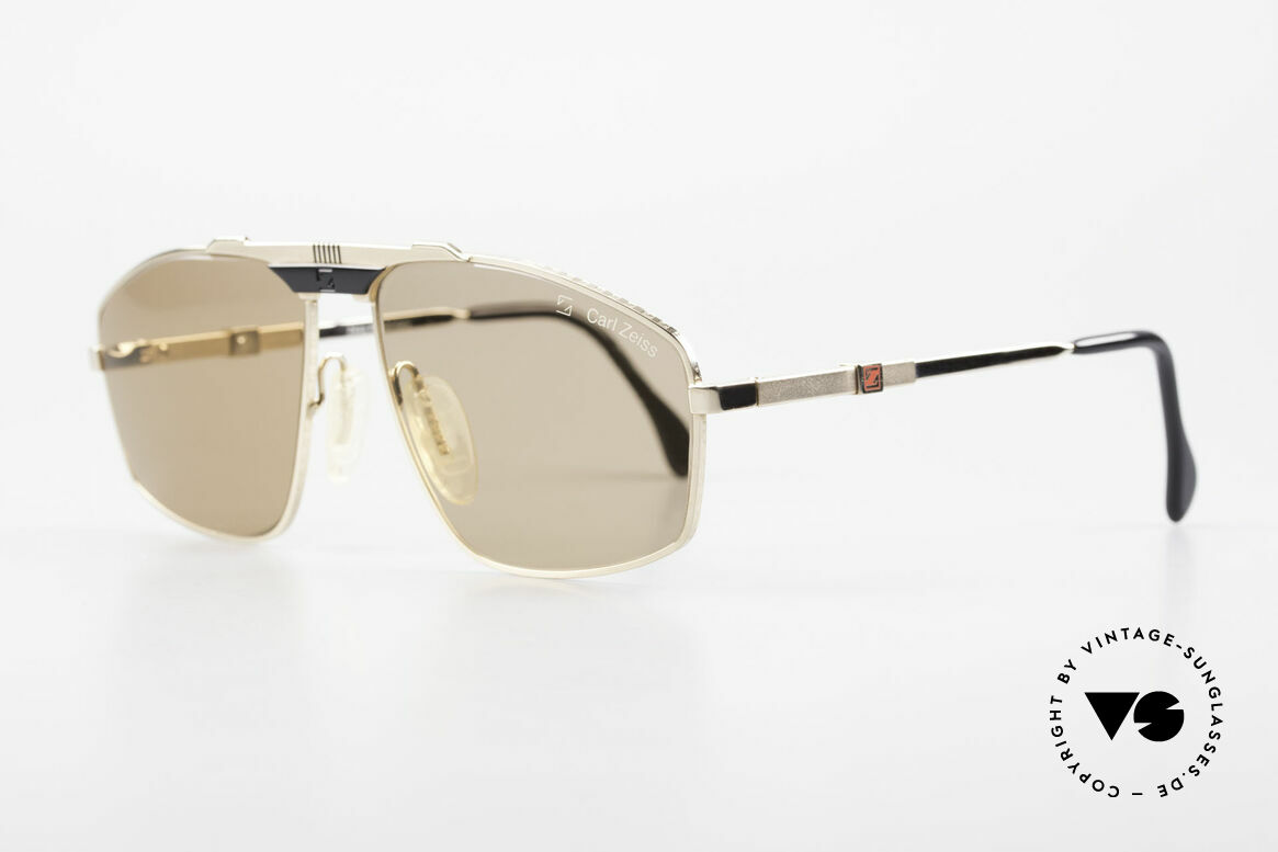 Zeiss 9925 True Gentlemen's 80's Shades, coated and non-reflecting lenses & adjustable temples, Made for Men
