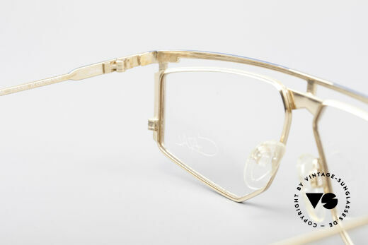 Cazal 235 Titanium Vintage 80's Cazal, the frame fits optical lenses or tinted lenses optionally, Made for Men and Women