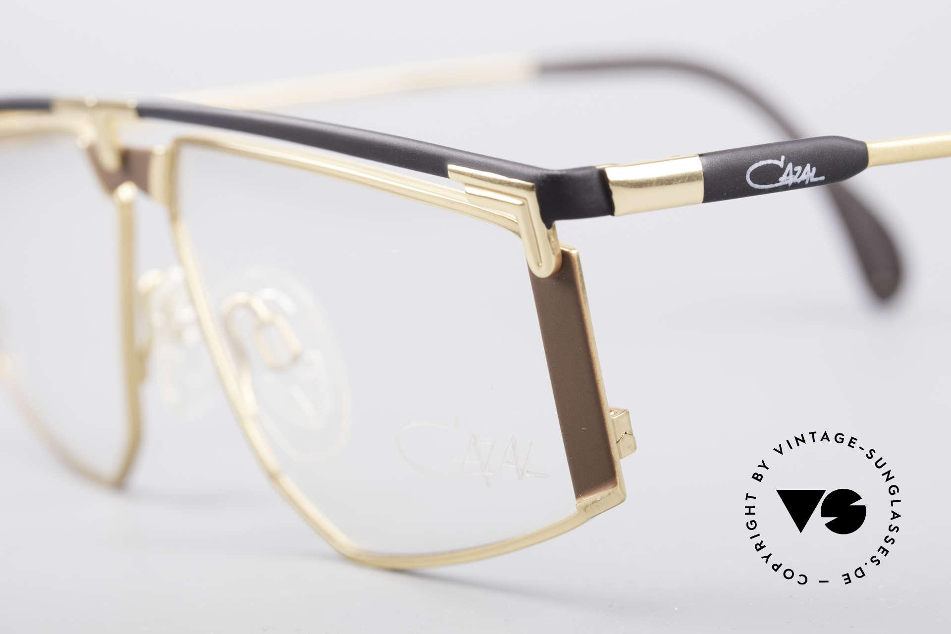 Cazal 235 Titanium Vintage Frame, unworn, NOS (like all our rare vintage Titanium specs), Made for Men and Women