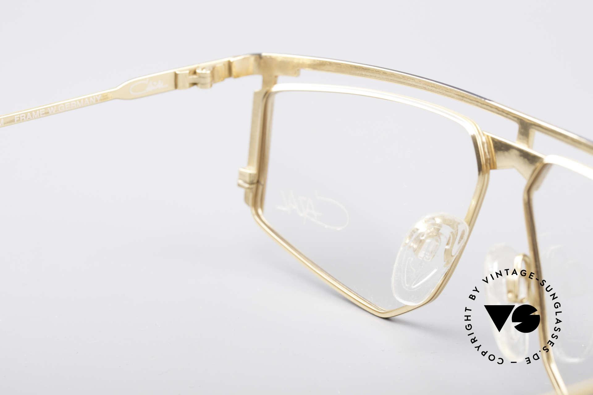 Cazal 235 Titanium Vintage Frame, the frame fits optical lenses or tinted lenses optionally, Made for Men and Women