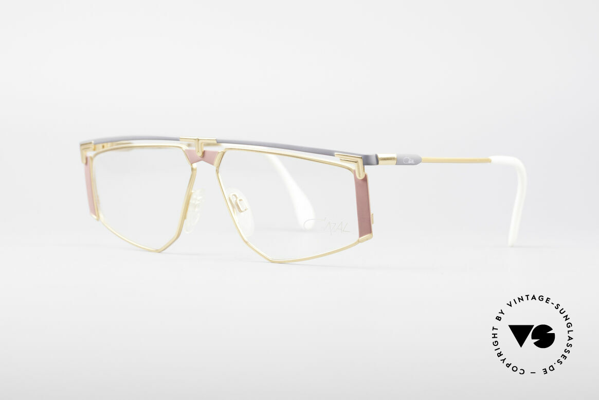 Cazal 235 Rare Titanium Vintage Frame, striking frame design (distinctive CAri ZALloni, CAZAL), Made for Men and Women