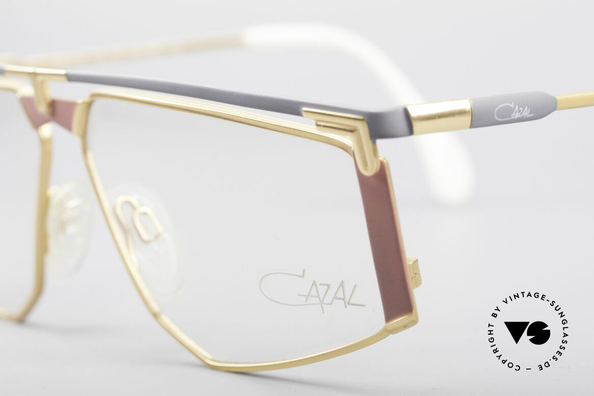 Cazal 235 Rare Titanium Vintage Frame, unworn, NOS (like all our rare vintage Titanium specs), Made for Men and Women