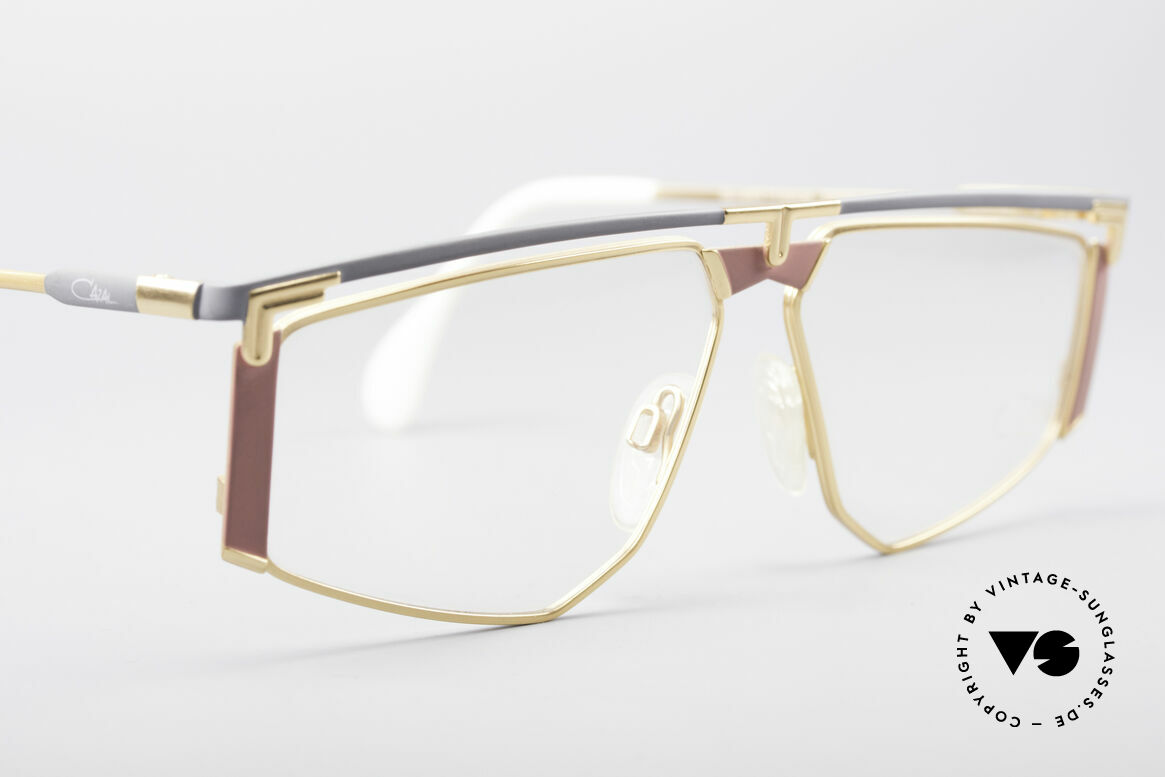 Cazal 235 Rare Titanium Vintage Frame, NO RETRO fashion, but a rare old 90s CAZAL ORIGINAL, Made for Men and Women