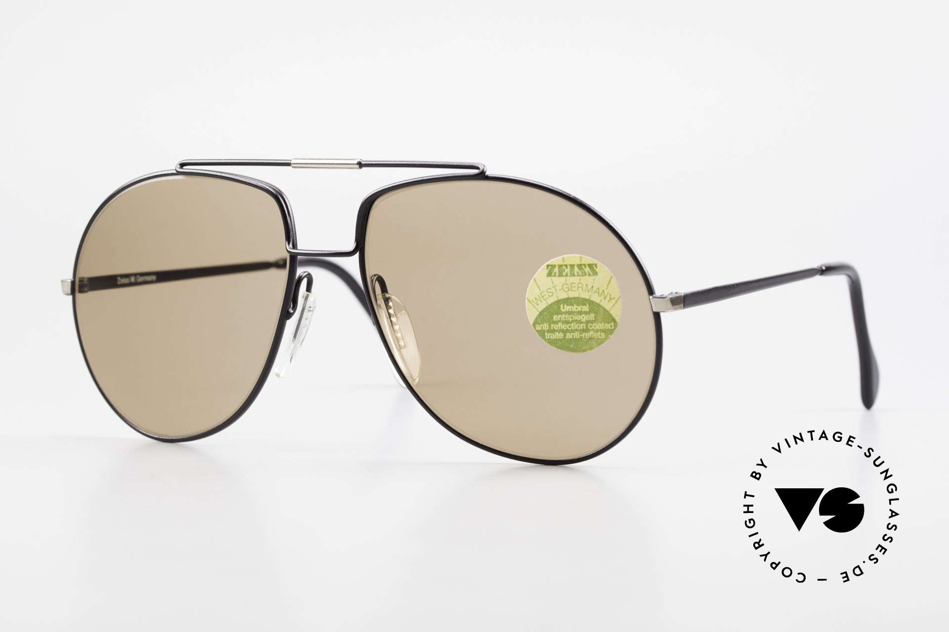 Zeiss 9369 80's Umbral Mineral Lenses, timeless, classic Zeiss vintage sunglasses of the 1980's, Made for Men