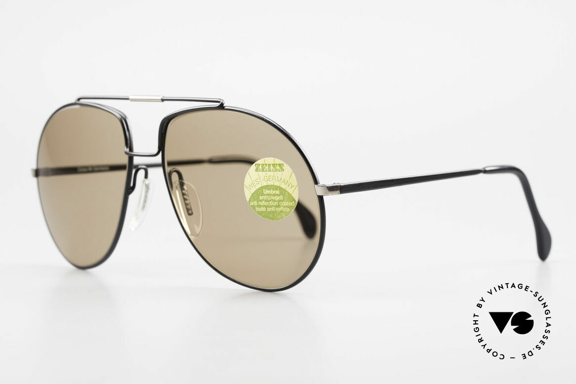 Zeiss 9369 80's Umbral Mineral Lenses, premium UMBRAL mineral lenses (100% UV protection), Made for Men