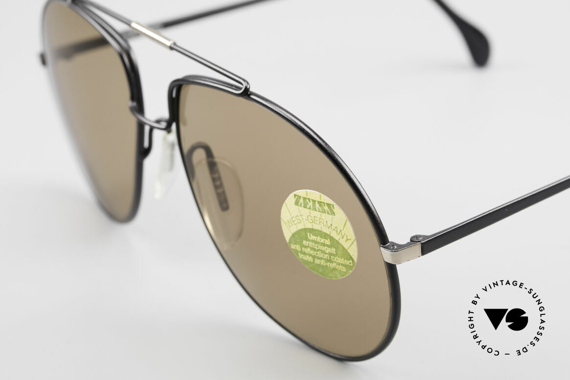 Zeiss 9369 80's Umbral Mineral Lenses, lenses = anti reflection coated (for a glare-free vision), Made for Men