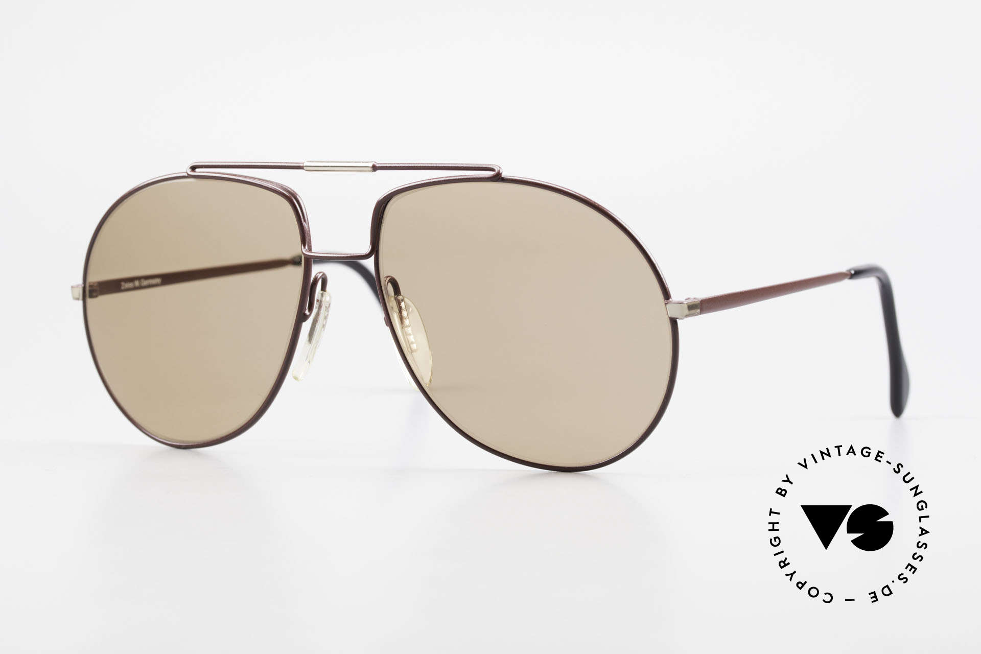 Zeiss 9369 80's Frame With Mineral Lenses, timeless, classic Zeiss vintage sunglasses of the 1980's, Made for Men
