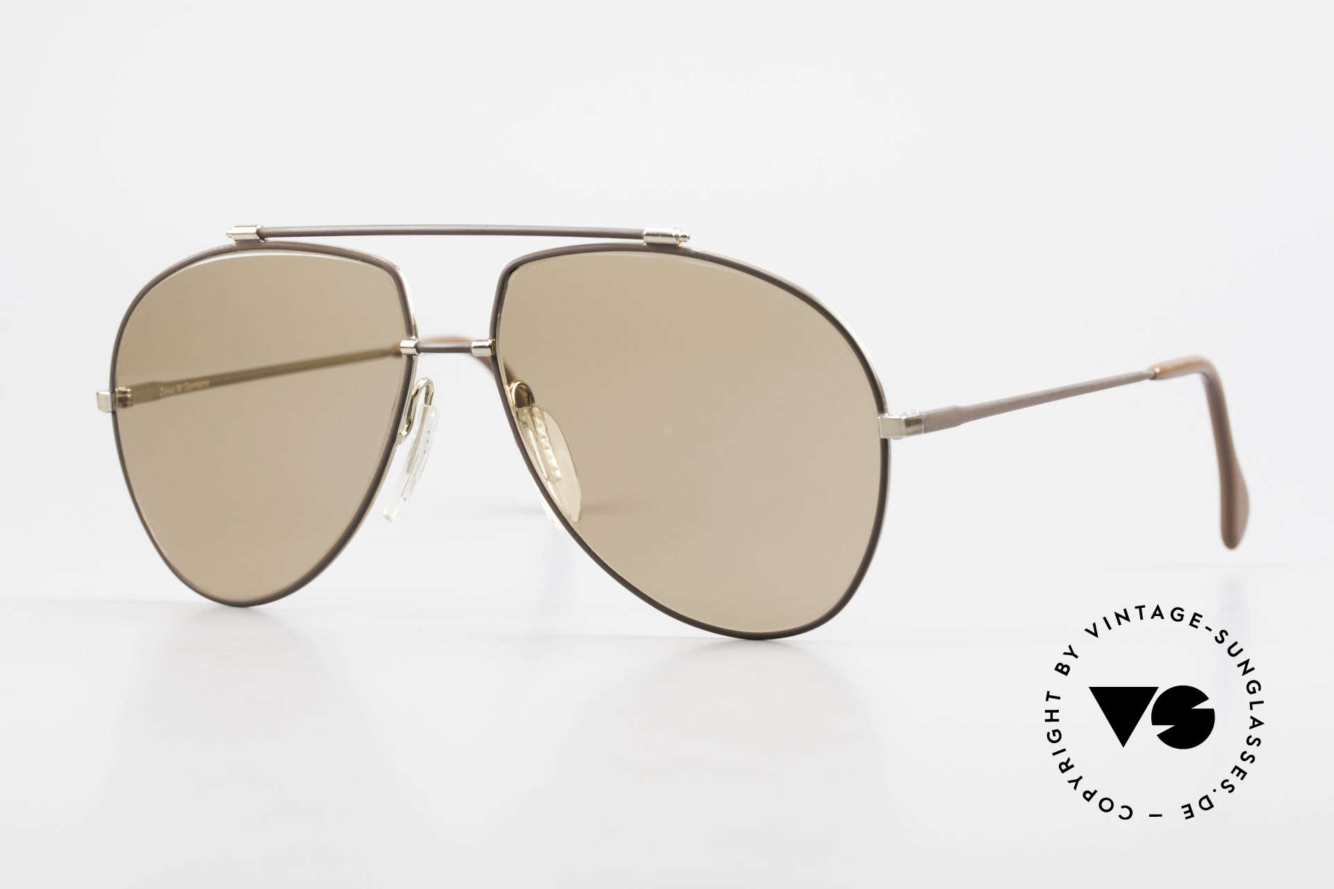 Zeiss 9371 Old 80's Quality Sunglasses, old authentic ZEISS sunglasses from 'WEST GERMANY', Made for Men