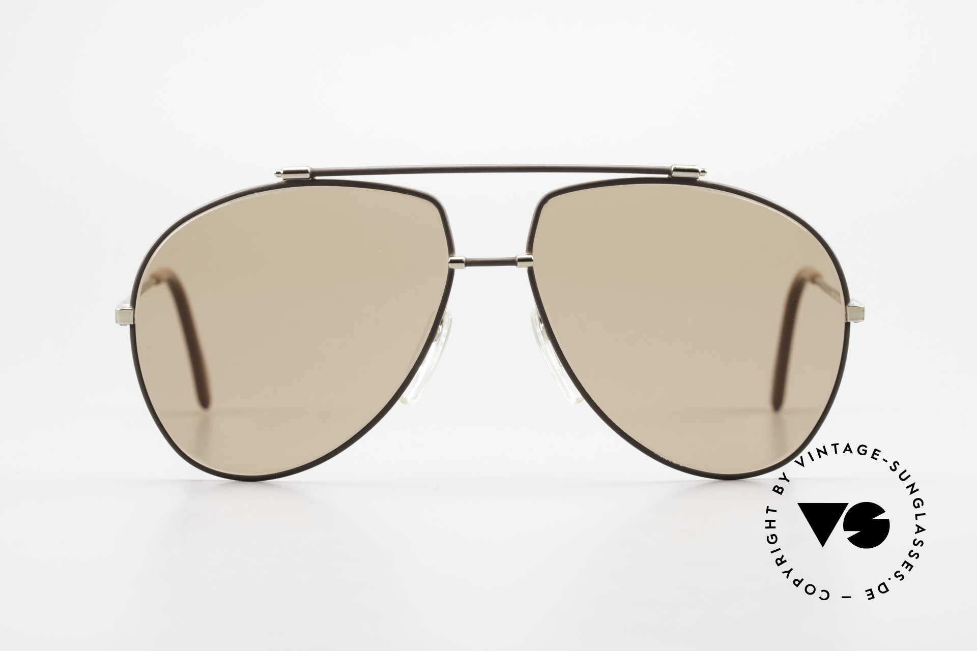 Zeiss 9371 Old 80's Quality Sunglasses, premium mineral lenses (UV protection & color fidelity), Made for Men
