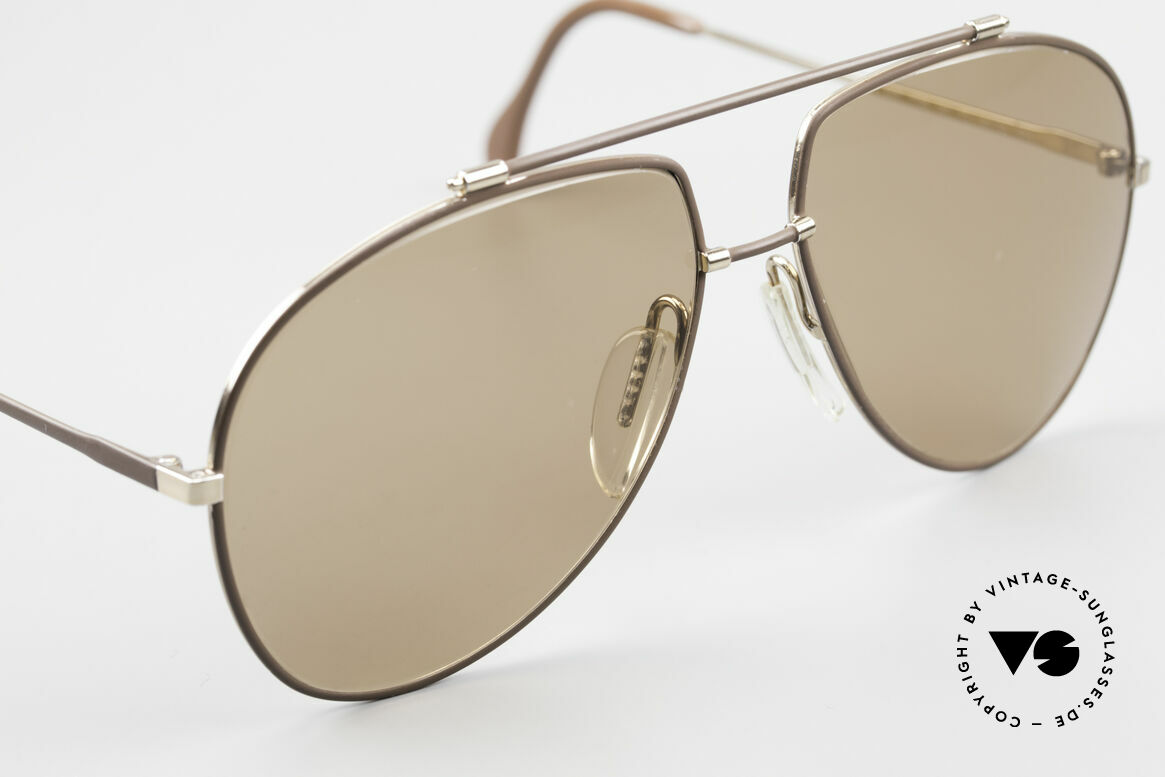 Zeiss 9371 Old 80's Quality Sunglasses, unworn NOS (like all our rare vintage Zeiss sunglasses), Made for Men
