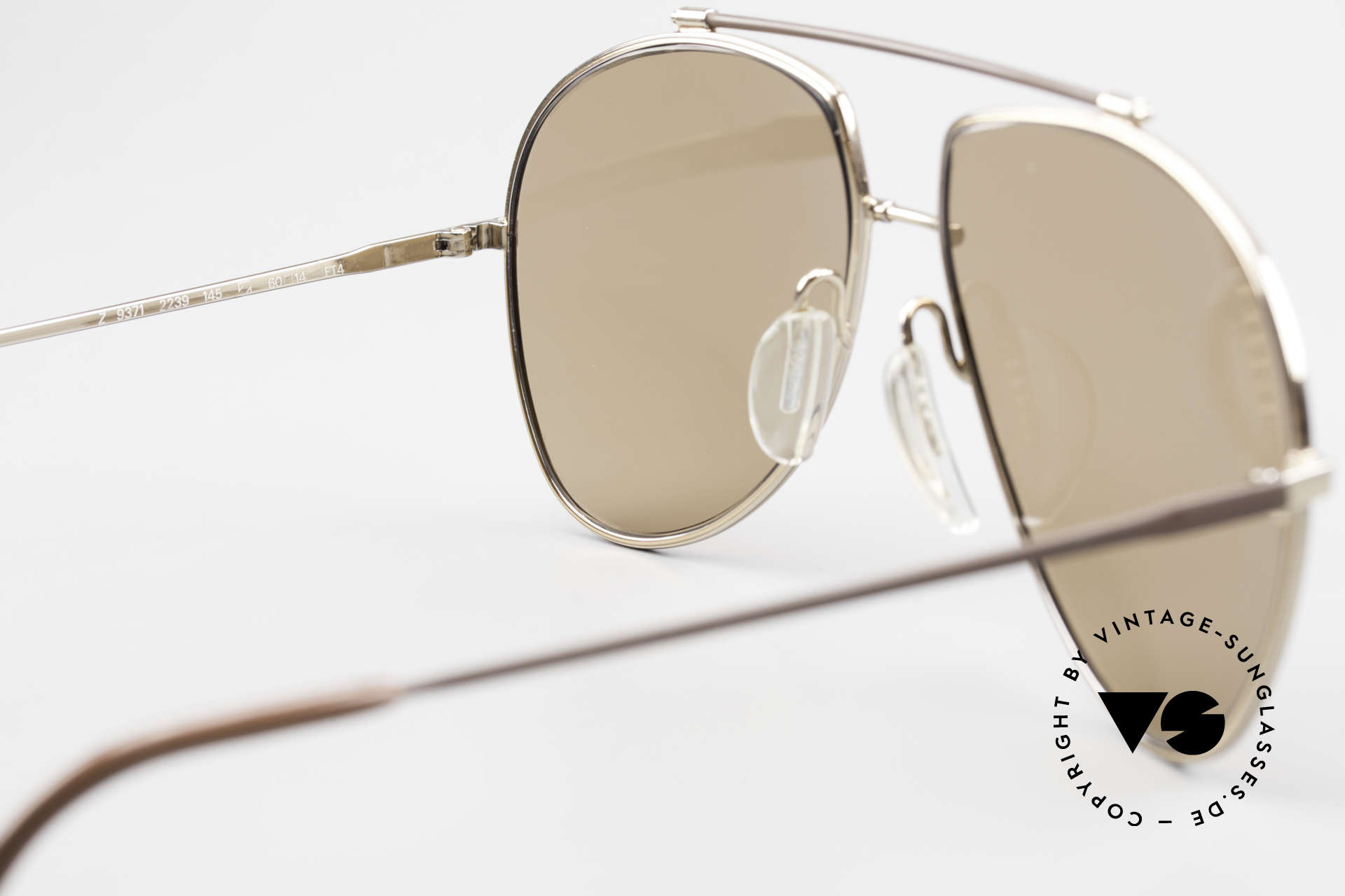 Zeiss 9371 Old 80's Quality Sunglasses, NO RETRO reproduction, but an old original from 1981, Made for Men
