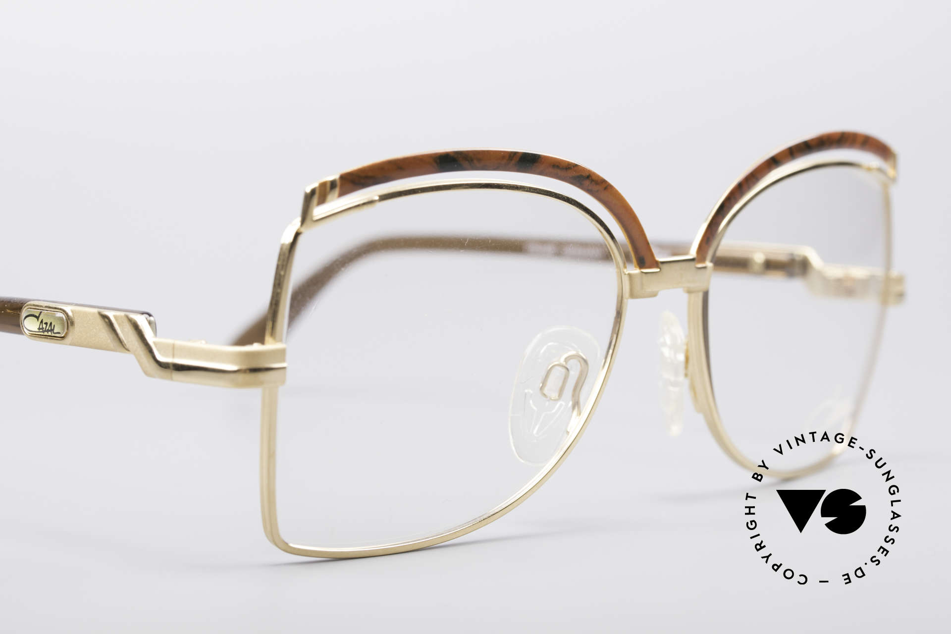 Cazal 240 90's Ladies Designer Frame, NO retro fashion, but an app. 27 years old rarity!, Made for Women