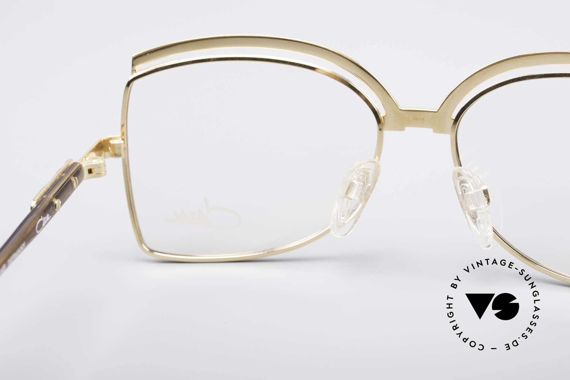 Cazal 240 90's Ladies Designer Frame, demo lenses should be replaced with prescriptions, Made for Women