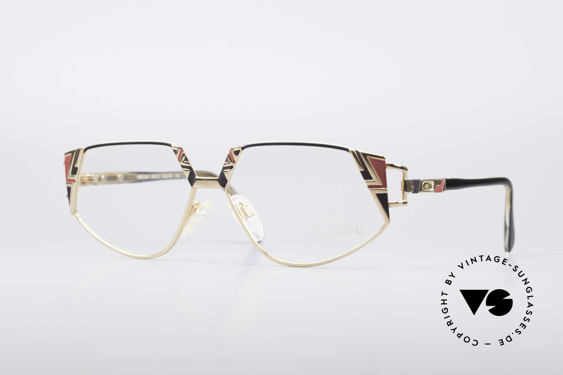 Cazal 238 Cateye Vintage Glasses, interesting vintage Cazal glasses of the early 1990's, Made for Women