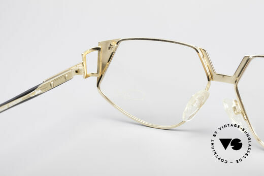 Cazal 238 Cateye Vintage Glasses, demo lenses can be replaced with optical (sun)lenses, Made for Women