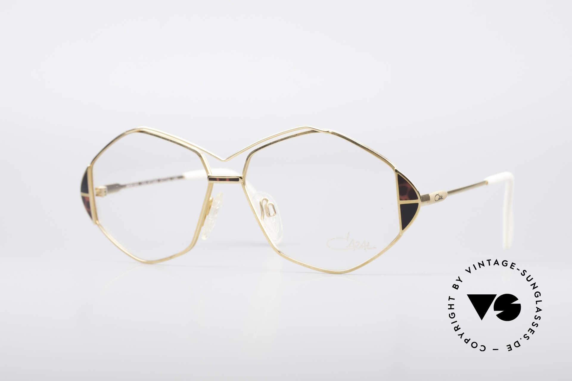 Cazal 233 True Vintage No Retro Specs, extraordinary CAZAL eyeglasses from 1989/1990, Made for Women