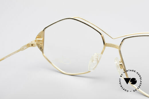 Cazal 233 True Vintage No Retro Specs, frame is made for lenses of any kind (optical/sun), Made for Women