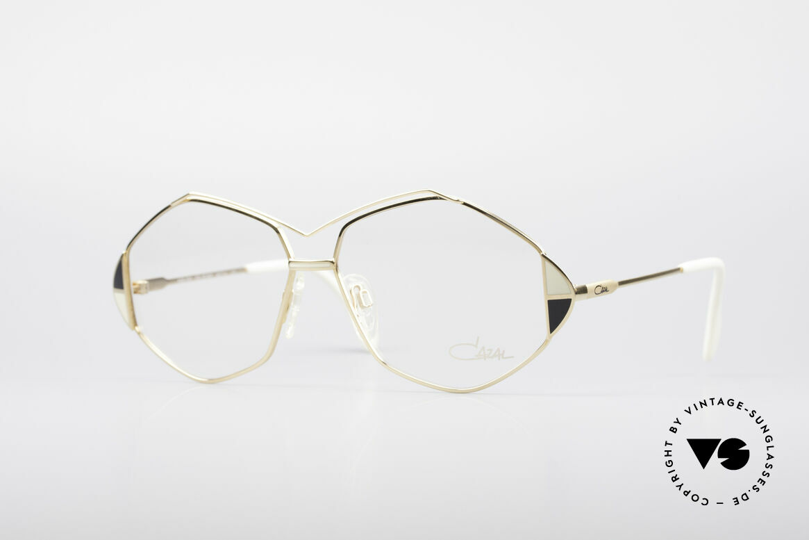 Cazal 233 Vintage West Germany Frame, extraordinary CAZAL eyeglasses from 1989/1990, Made for Women