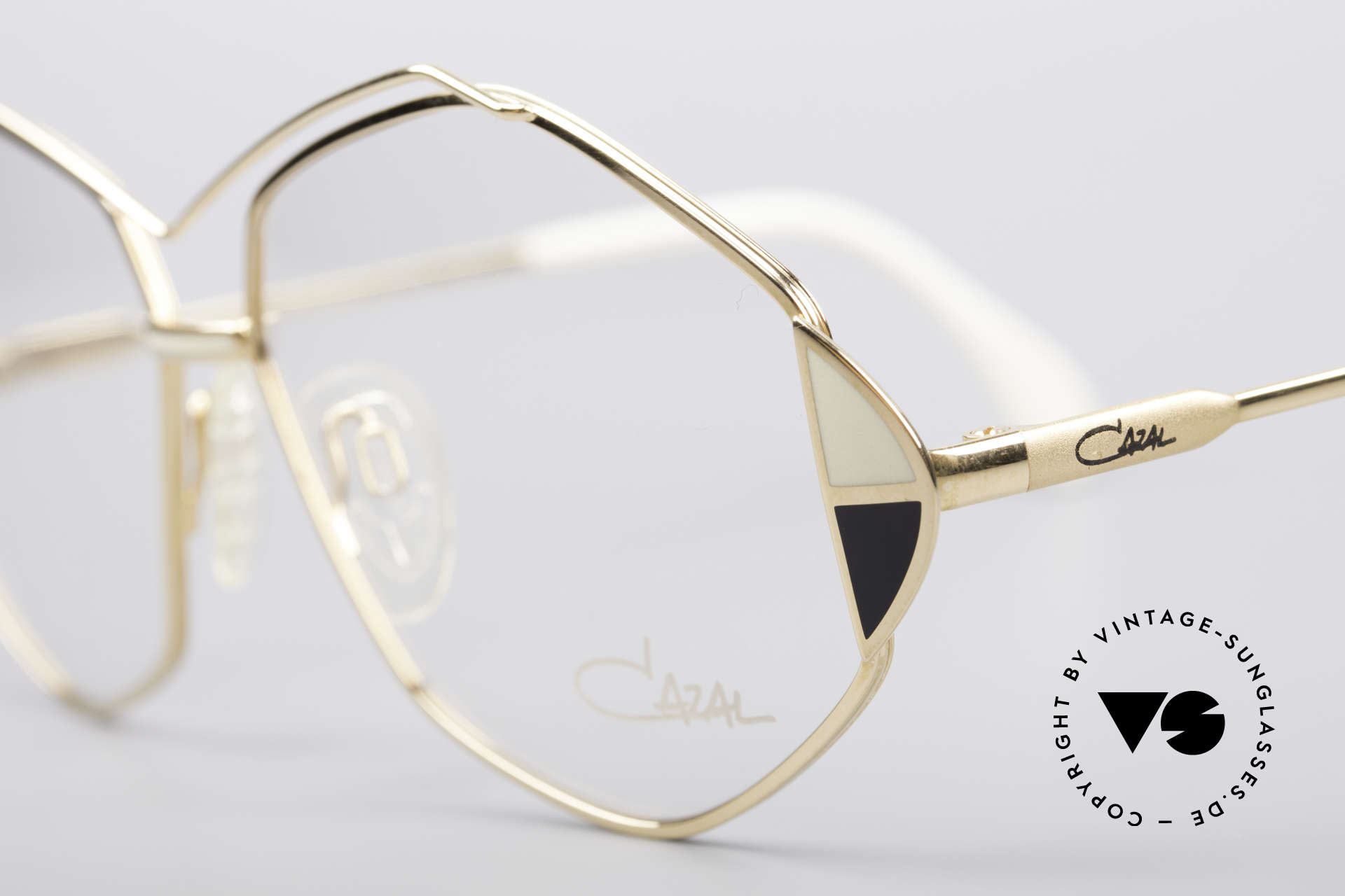 Cazal 233 Vintage West Germany Frame, new old stock (like all our vintage Cazal glasses), Made for Women