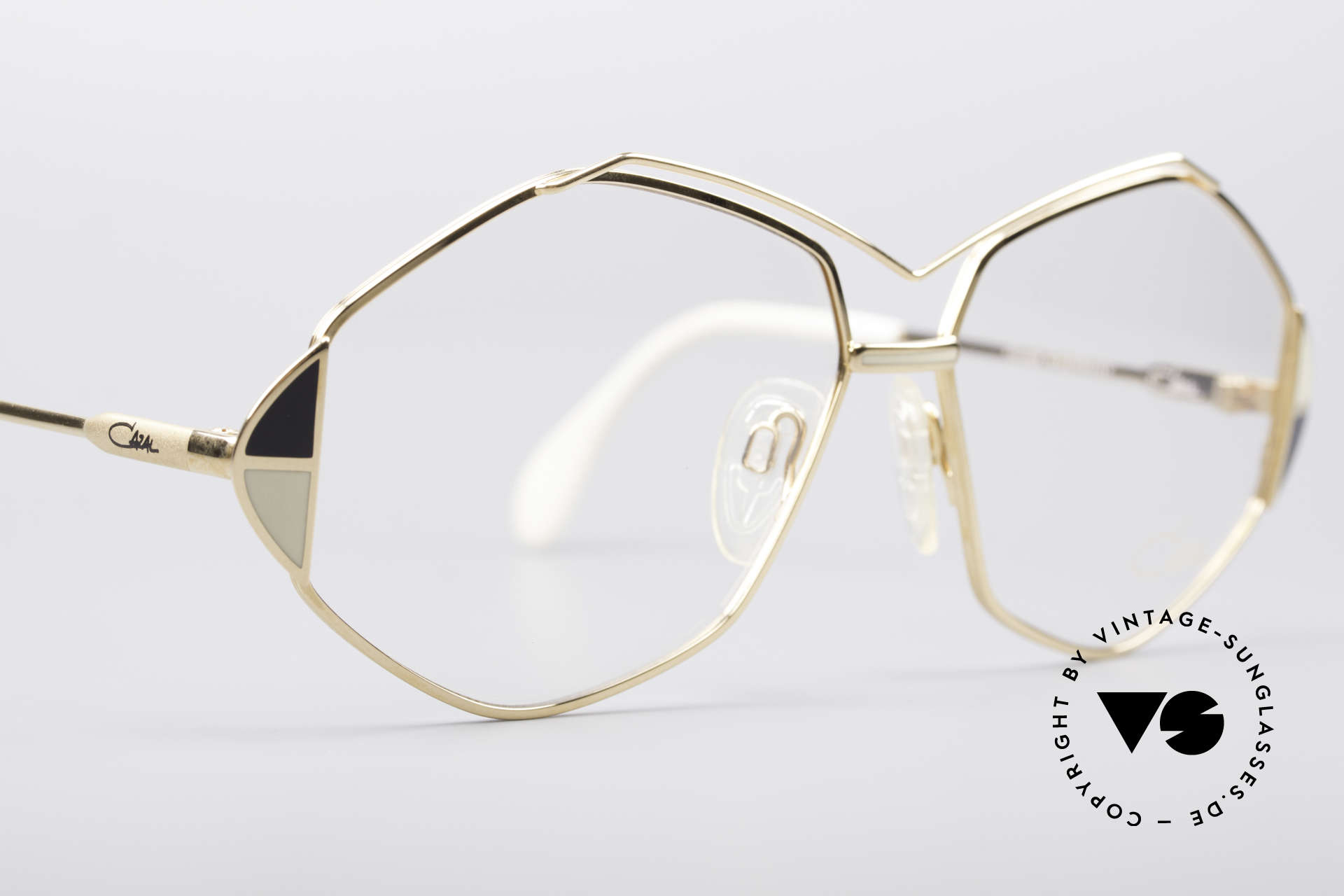 Cazal 233 Vintage West Germany Frame, NO RETRO fashion, but a rare old 80's ORIGINAL, Made for Women