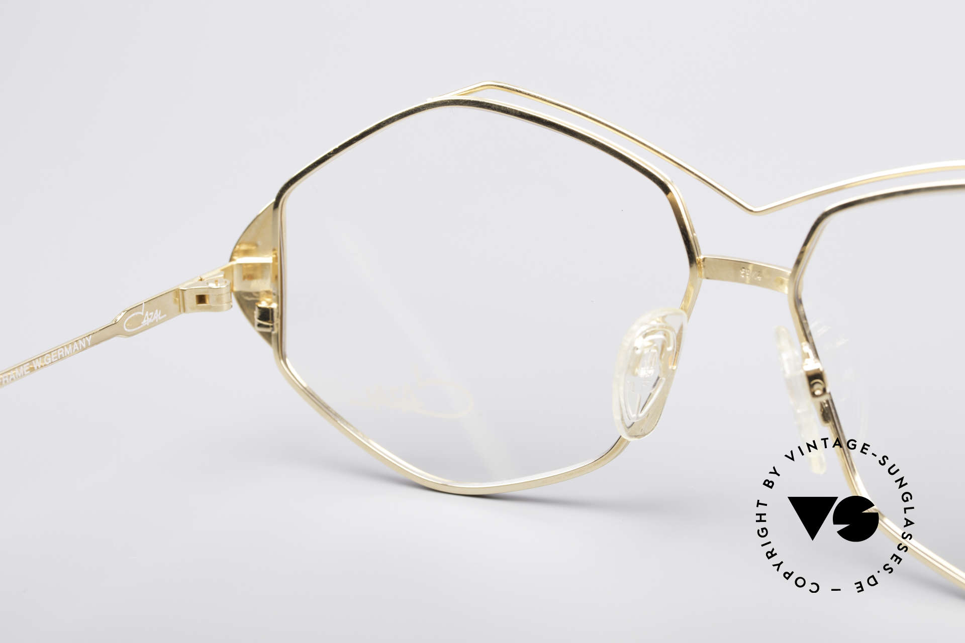 Cazal 233 Vintage West Germany Frame, frame is made for lenses of any kind (optical/sun), Made for Women