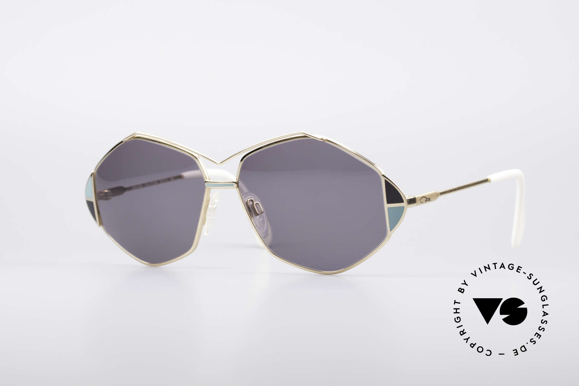Cazal 233 Vintage West Germany Shades, extraordinary CAZAL sunglasses from 1989/1990, Made for Women