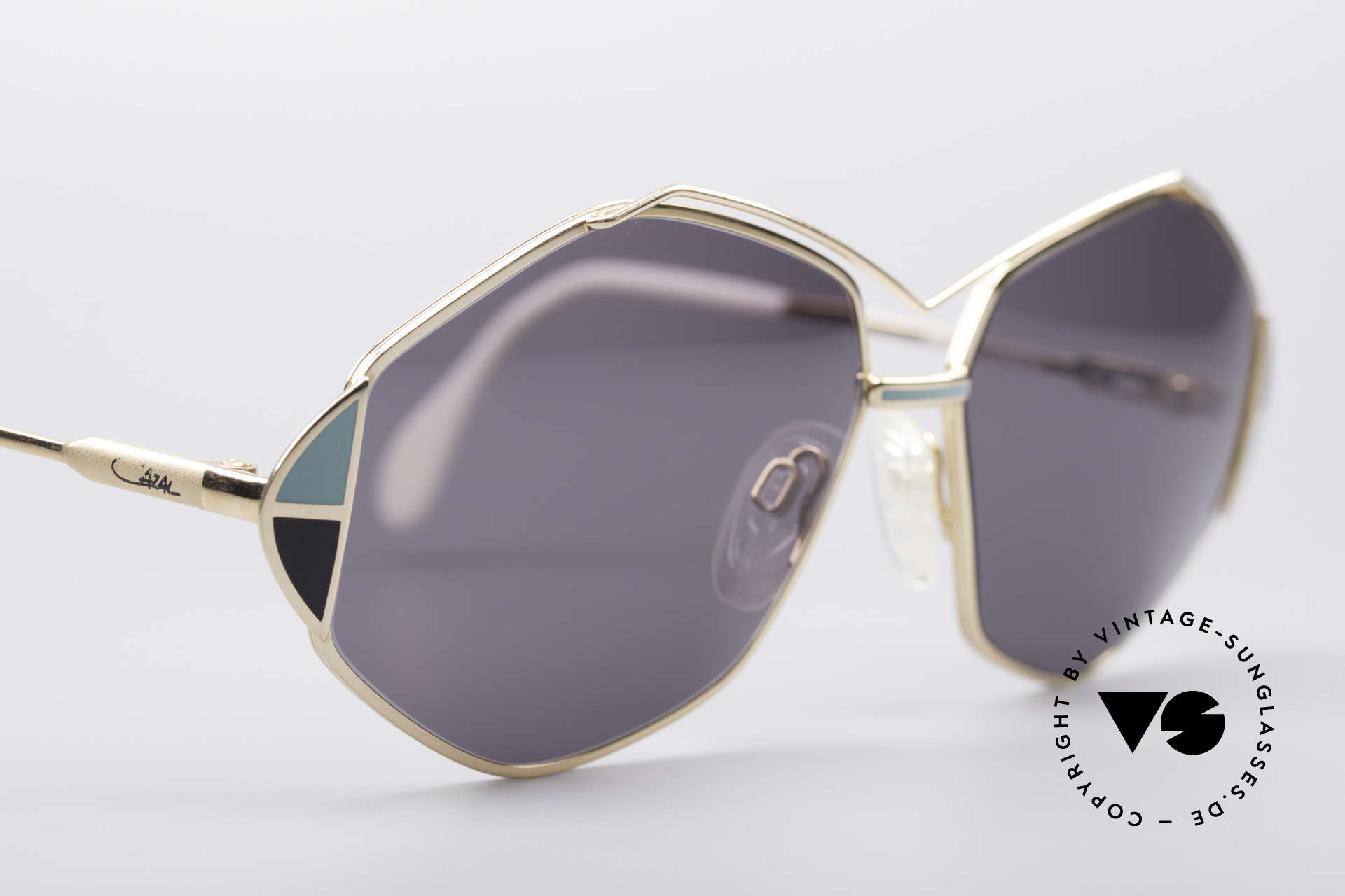 Cazal 233 Vintage West Germany Shades, NO RETRO fashion, but a rare old 80's ORIGINAL, Made for Women