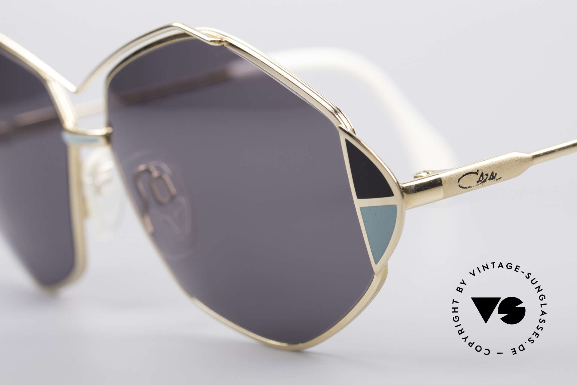 Cazal 233 Vintage West Germany Shades, new old stock (like all our vintage Cazal shades), Made for Women