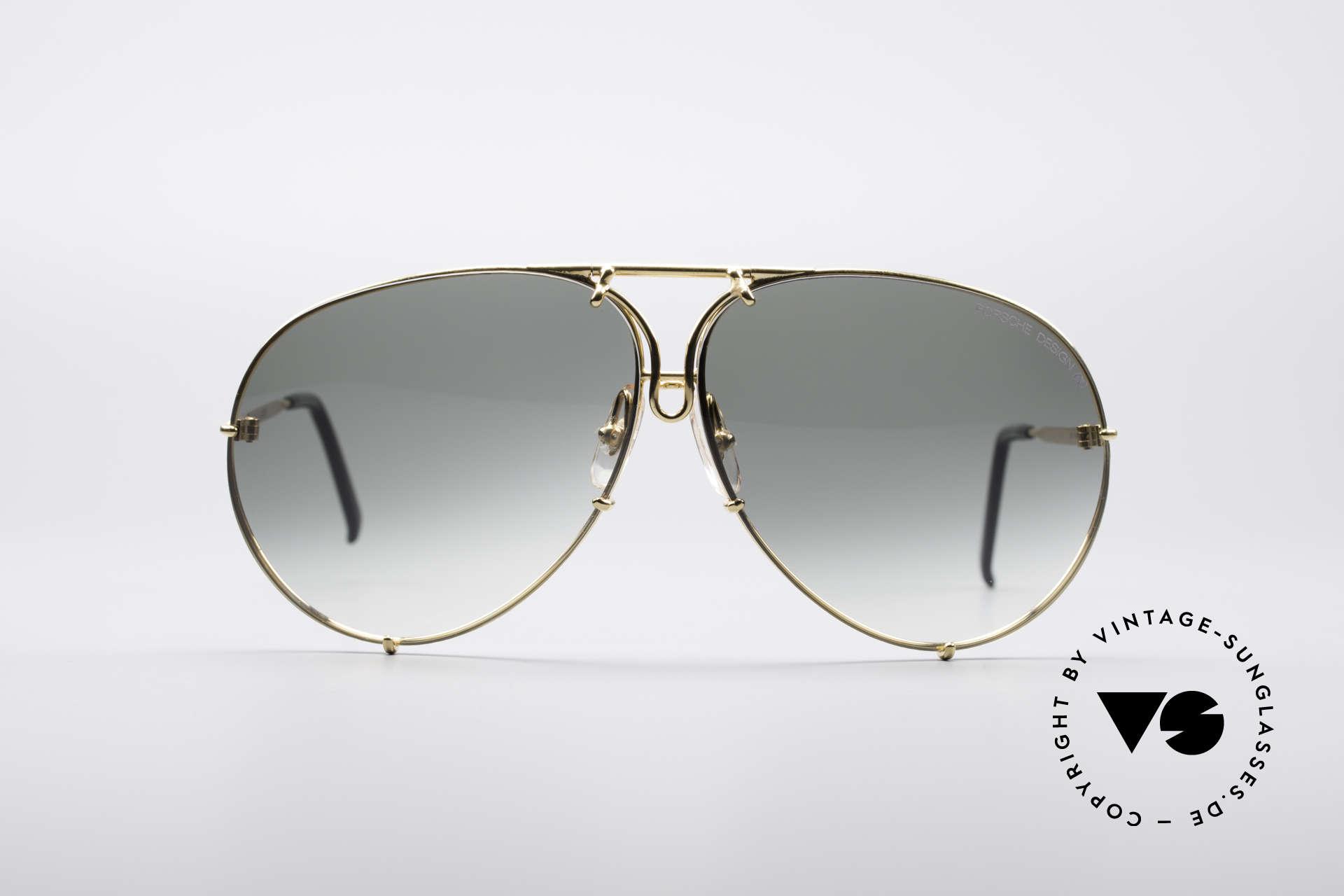 84366aa449 Sunglasses Porsche 5621 Large 80 s Aviator Shades