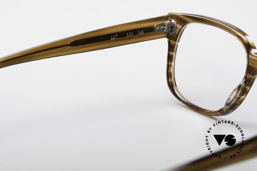 Metzler 447 Authentic Vintage Eyeglasses, the frame is made for lenses of any kind (optical / sun), Made for Men