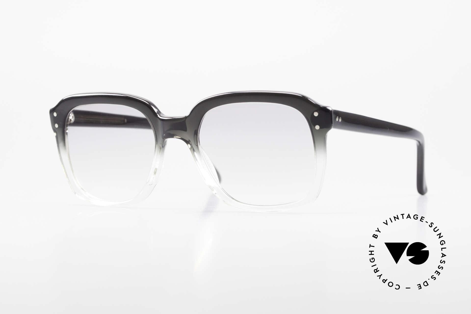Metzler 449 1970's Original Nerd Glasses, old original Metzler eyeglass-frame from the 70's/80's, Made for Men