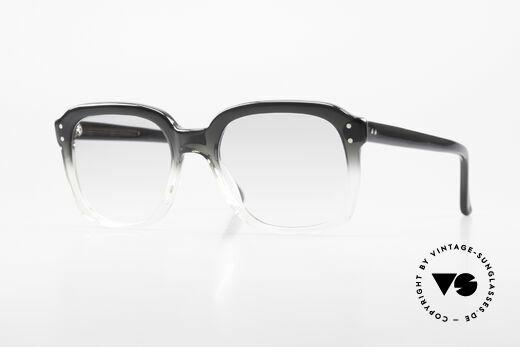 Metzler 449 1970's Original Nerd Glasses Details