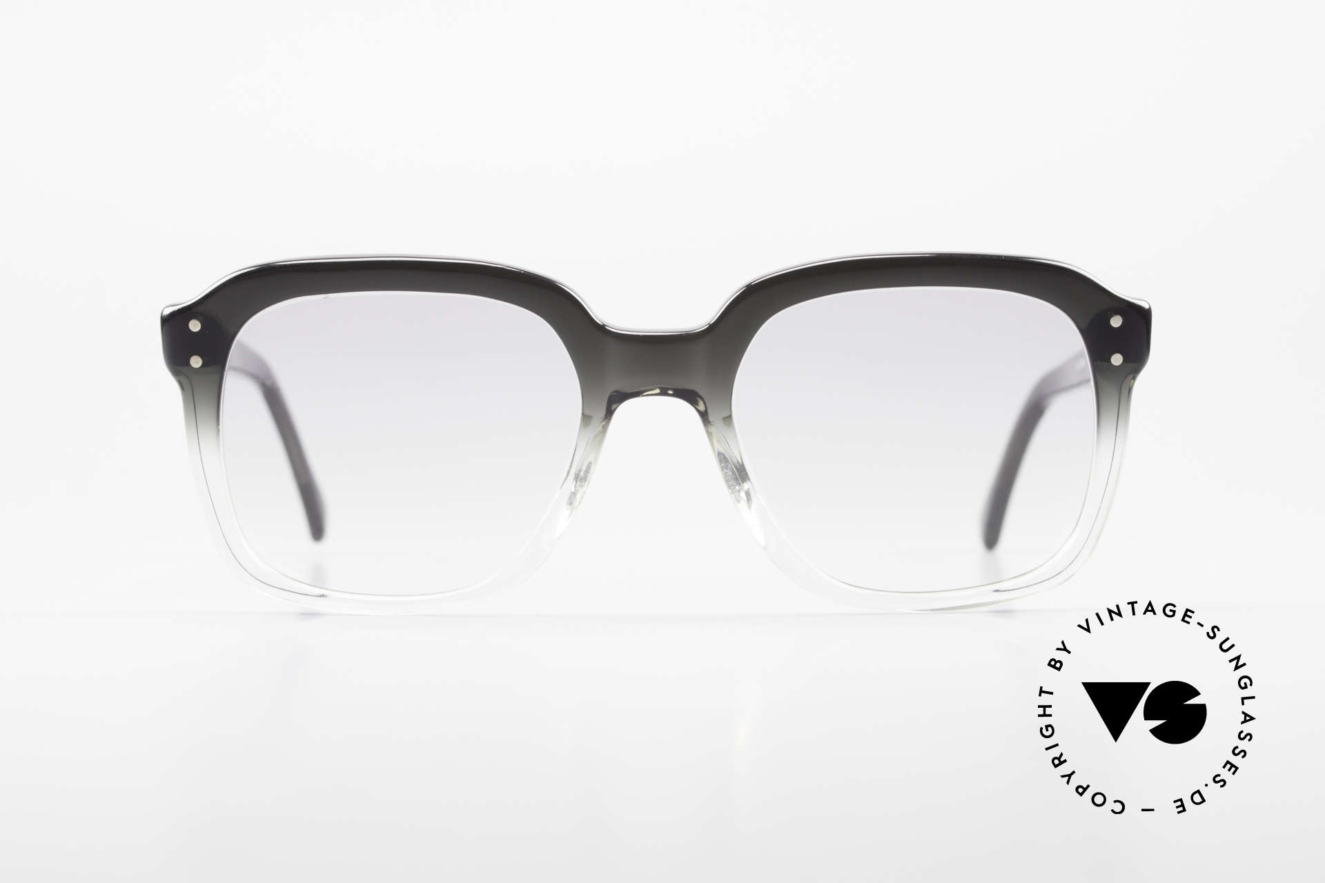 Metzler 449 1970's Original Nerd Glasses, a true classic at that time - reclaimed nerd style today, Made for Men