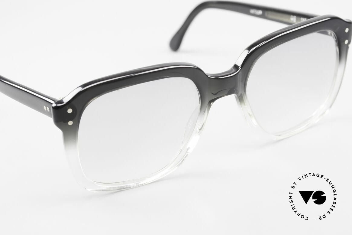 Metzler 449 1970's Original Nerd Glasses, never worn (like all our vintage Metzler men's glasses), Made for Men
