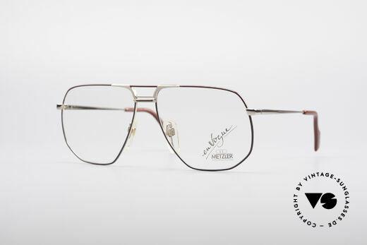 Metzler 0891 80's En Vogue Glasses Details