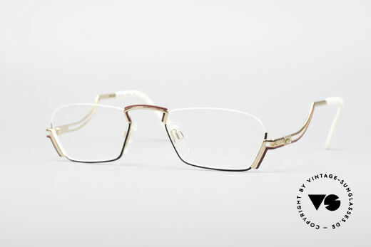 Cazal 232 Vintage Reading Eyeglasses Details
