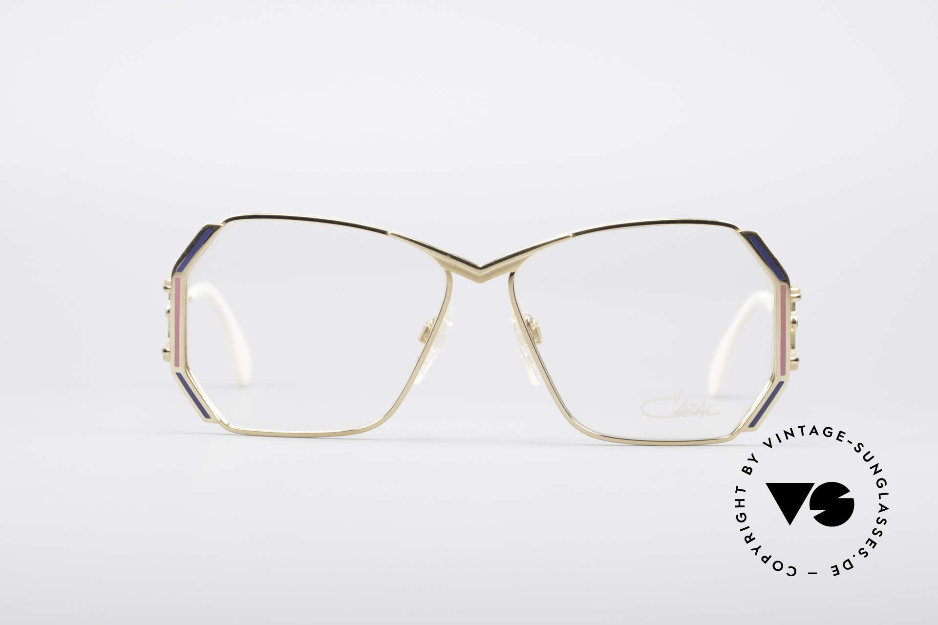 Cazal 225 80's Old School HipHop Frame, handmade in Passau; Bavaria (late 1980's/early 1990's), Made for Women
