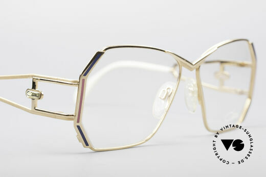 Cazal 225 80's Old School HipHop Frame, NO RETRO EYEGLASSES, but a unique old CAZAL rarity, Made for Women