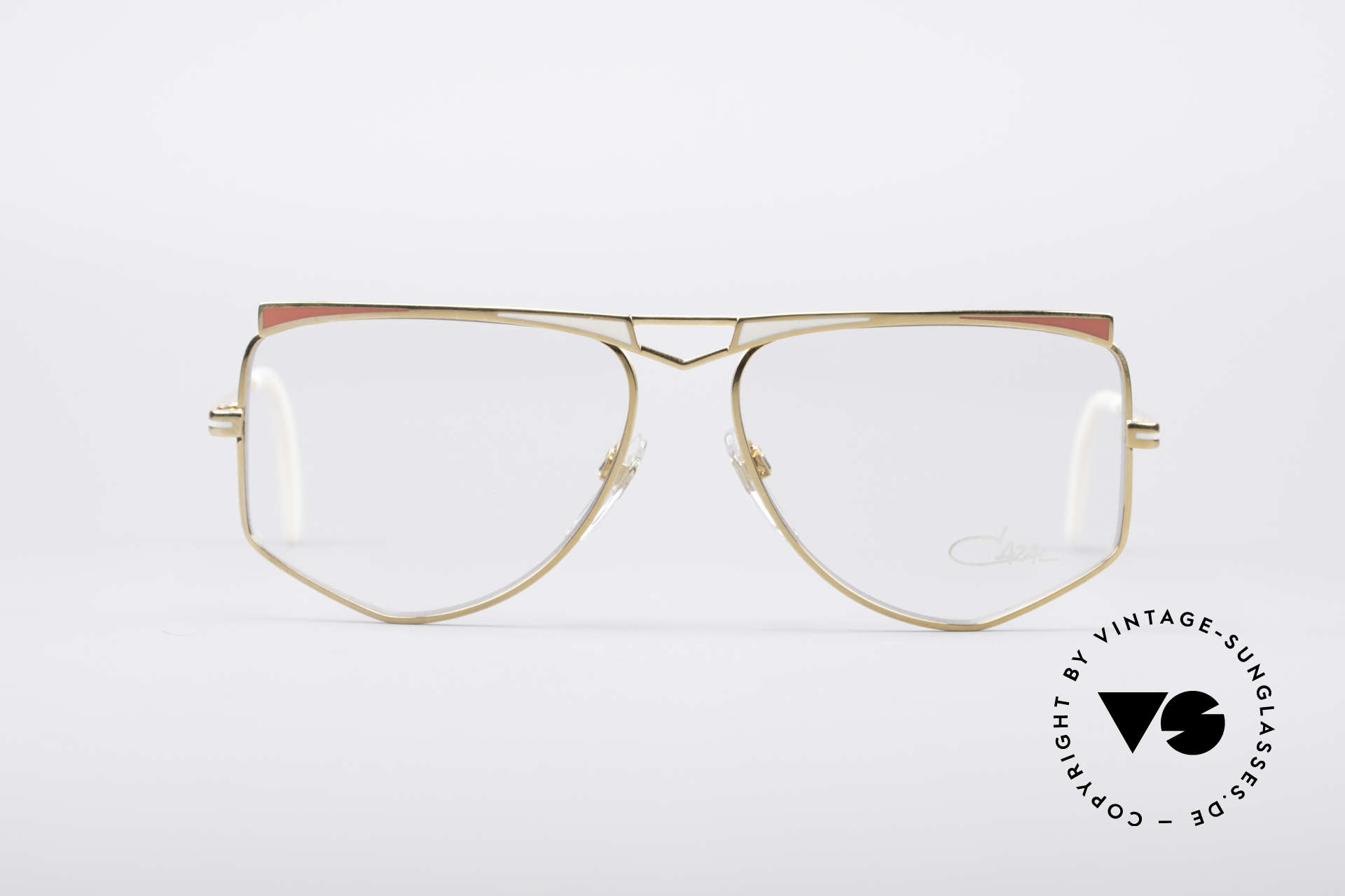 Cazal 227 True Vintage No Retro Frame, perfect matching frame coloring; typically 80's fashion, Made for Women