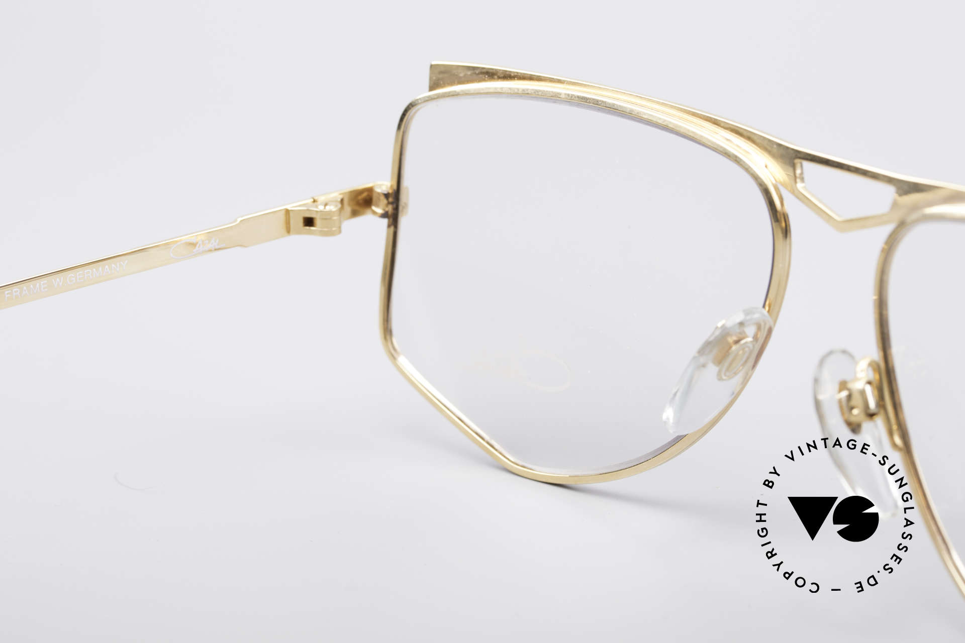 Cazal 227 True Vintage No Retro Frame, the demo lenses can be replaced with optical (sun)lenses, Made for Women