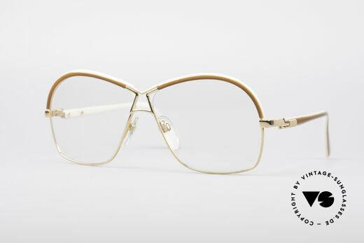 Cazal 223 True 80's Vintage Glasses Details